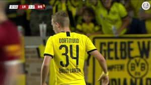 Resolut hugget ind: Jacob Bruun Larsen sænker Liverpool med fint mål - se scoringen her