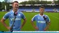 16-årig fik Superliga-debut for Randers - se interviewet med brødrene Bundgaard her