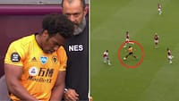 Impact: Adame Traoré skiftet ind for Wolves - to minutter senere er han med i føringsmål