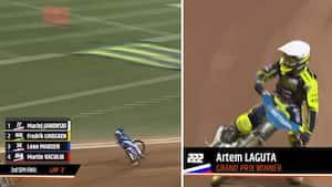 Russer vinder Polens Grand Prix: Leon Madsen røg ud i semifinalen efter flot kørsel - se det her