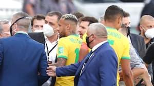 Fifa undersøger afbrudt storkamp mellem Brasilien og Argentina