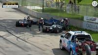 Crash på første omgang i Detroit: Indy 500-mesteren udgår