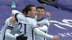 Chelseas offensiv sprudlede da Palace led et 1-4 nederlag - se målene her