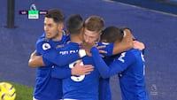 MÅL! Brandvarme Barnes plaffer Leicester foran efter skarpt angreb