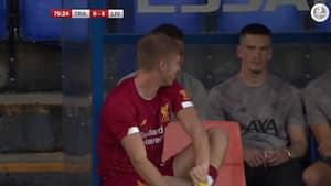 'Hvor kan han gøre mindst skade?' Liverpool-målmand bliver skiftet ind som... ANGRIBER