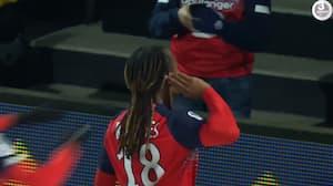 Lille nærmer sig top-3 med sejr over Angers - se målene her