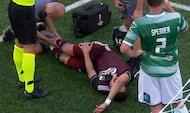 Endnu en FCK-skade: Pieros pløjet ned i feltet - Skov hamrer 'Løverne' på 2-0
