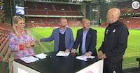 Genialt: Frimann overtager værtsrollen i nørdet fodboldsnak med Ståle - se interviewet her