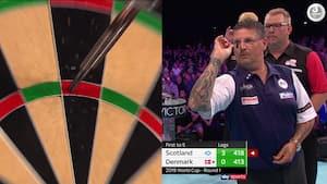Dansk duo er færdig ved World Cup: Får klare tæv af skotske dartstjerner - se afslutningen her