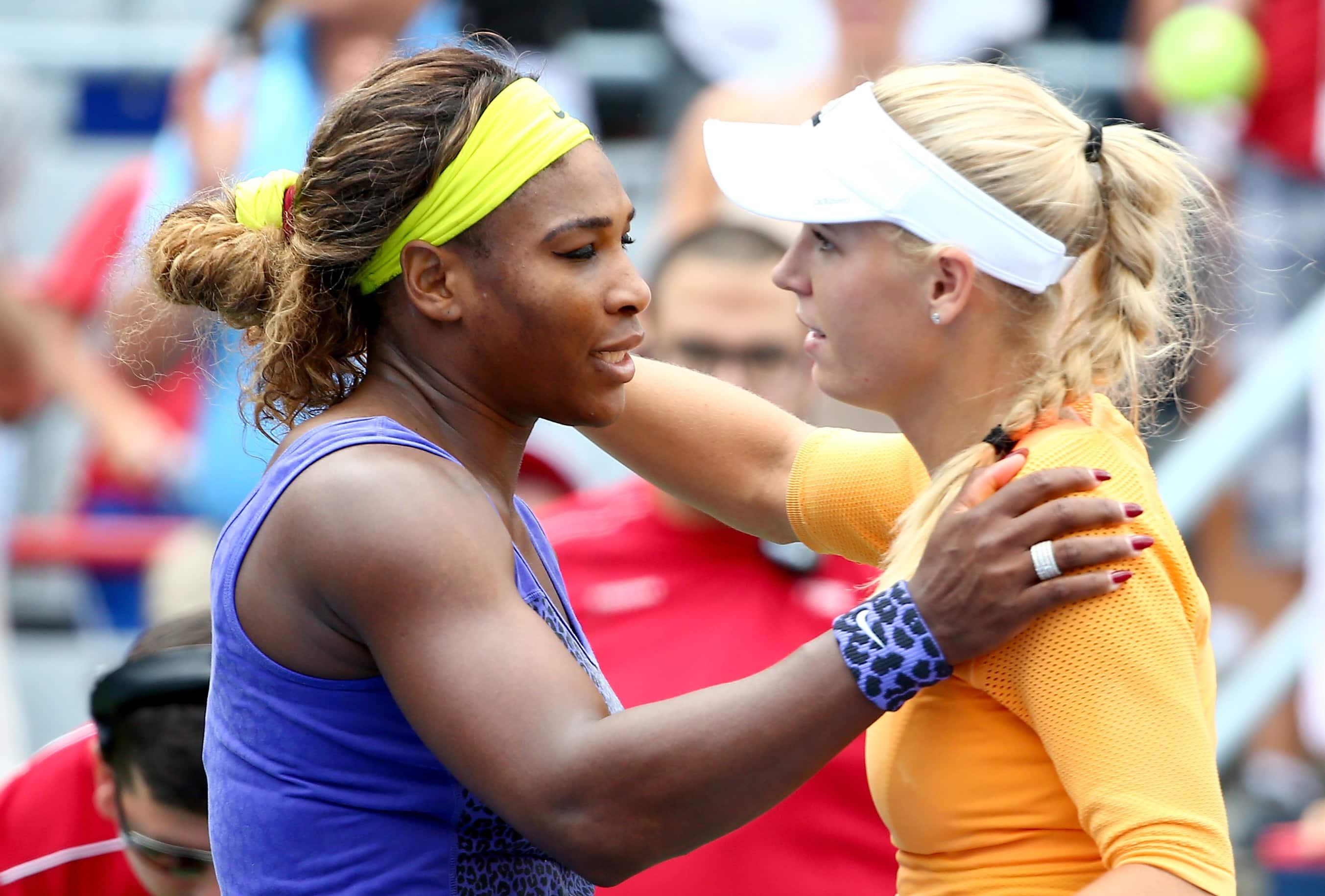 Serena williams sort fisse