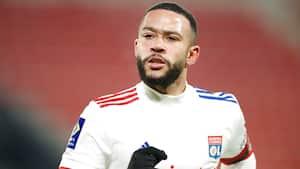 Depay sikrer Lyon point med mål og assist i flot comeback
