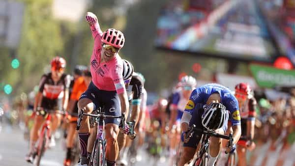 Cort tangerer Riis: Spurter sig til ny sejr i Vueltaen