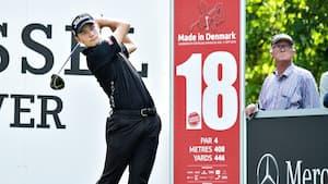 Dansk succes: Benjamin Poke og Rasmus Højgaard spiller sig på Europa Touren