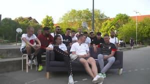'Tillykke med CL' - 'Tak, bro': Højbjerg fortæller om forholdet til van Dijk