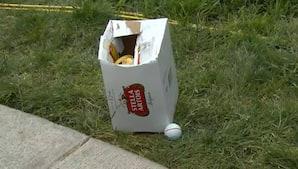 Dobbelt uheld: DeChambeau lander ved siden af tom ølkasse