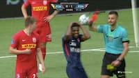 FC Midtjylland appellerer Frank Onyekas udvisning - se begge gule kort her