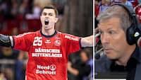 Efter Flensburg-Handewitts triumf: Dalmose udpeger de tre bedste spillere i Bundesligaen i denne sæson