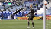 Tottenham udligner mod Leicester City - er det et selvmål af Schmeichel?