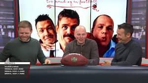Tre Mand og en Football før draften: Se hele programmet her