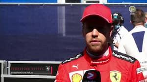 Vettel: 'Bilen føles ikke forfærdelig, men den er slet ikke hurtig nok' - Ferrari i store problemer
