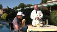 'Jeg er behageligt fuld lige nu' : Eddie Pepperell varmer op til Italien Open på fantastisk manér