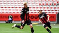 Dolberg med flot assist: Nice udligner til 1-1 efter 6 minutter