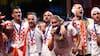 Kroatiens anfører spillede landskamp med corona - fik besked i pausen