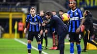 Eriksen debuterede for Inter i kvartfinalesejr mod Fiorentina
