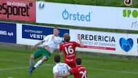 Endnu et saksesparksshow fra Grønning: Viborg slår Fredericia 3-0 - se alle målene her