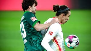 Flot Yussuf Poulsen-assist hjælper Leipzig til sejr - se højdepunkterne
