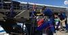 Tæt på at gå helt galt: F3-mekaniker var tæt på at få sin fod kørt over under pitstop
