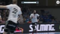 Ni mål på ni forsøg: Jesper Nøddesbo storspiller forgæves i EHF Cup-opgør