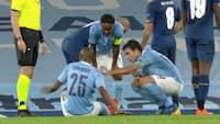 Nyt City-problem: Fernandinho går i stykker efter få minutter - Guardiola melder ham ude i mange uger