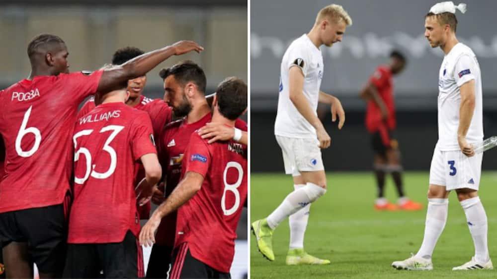 United sneg sig videre i Europa League trods flot FC København-præstation