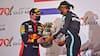 Dramatisk race endte med Hamilton-triumf og dobbelt Red Bull på podiet