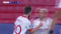 GOOOL: Rakitic pander reducering i nettet mod Krasnodar - se 1-2-målet her