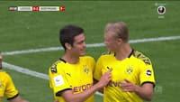 Haaland gør det igen - se det norske fænomen med 1-0-mål i Leipzig