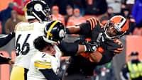 Appel afvist: Garrett får kæmpekarantæne for hjelmslag - beskyldte Steelers-QB for racisme