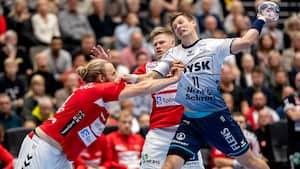 Aalborg Håndbold imponerer og slår Flensburg-Handewitt - se de afgørende momenter her