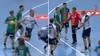 Retro: Rødt kort efter svinestreg på dansker - holdkammerater må køle ham ned