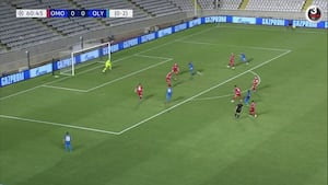 Highlights: Olympiakos sikrede sig gruppespil efter nullert på Cypern