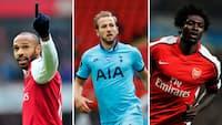 Solotur, flugter og langskudsperler: Her er de fem bedste North London Derby-mål