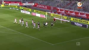 TOR, TOR, TOR: Hoffenheim udligner trods en mand i undertal
