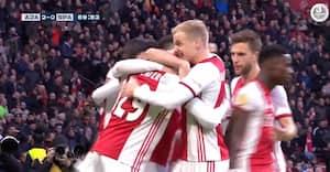 17-årigt stortalent sikrer Ajax ny sejr - se målene fra sejren over Sparta Rotterdam her