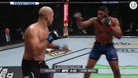 'Razor' Blaydes i knivskarp TKO-triumf mod Dos Santos - venter en titelkamp forude?