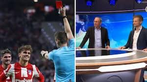 Studiet diskuterer de tvivlsomme dommerkendelser: 'Det gik ikke Atleticos vej igår'