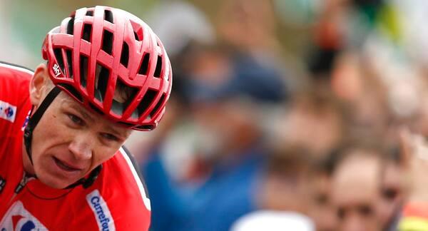 Slagen Froome føler sig stadig på vinderkurs i Vueltaen
