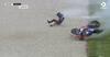 Grumme billeder: Skrækkeligt crash i MotoGP aflyste kvalifikationen