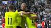 Haaland løber sig fri og åbner målkontoen i Champions League