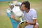 Spansk veteran sejrer i Wimbledons generalprøve – se den afgørende tiebreak her